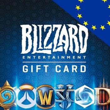 خرید گیفت کارت بتل نت ( یورو اروپا ) | BattleNet Gift Card EU | فروشگاه ریلود گیم