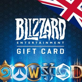 خرید گیفت کارت بتل نت ( پوند انگلیس ) |  BattleNet Gift Card UK | فروشگاه ریلود گیم