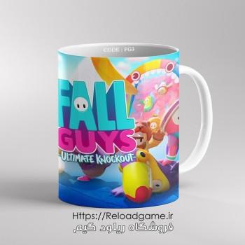 خرید ماگ طرح بازی Fall Guys | کد FG3 فروشگاه ریلود گیم