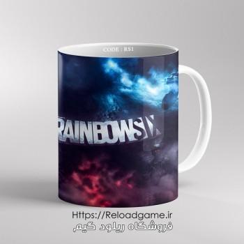 خرید ماگ طرح بازی Rainbow Six Siege | کد RS1 فروشگاه ریلود گیم