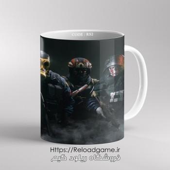 خرید ماگ طرح بازی Rainbow Six Siege | کد RS2 فروشگاه ریلود گیم