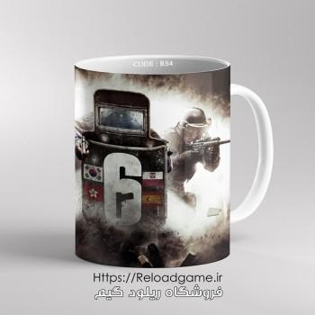 خرید ماگ طرح بازی Rainbow Six Siege | کد RS4 فروشگاه ریلود گیم