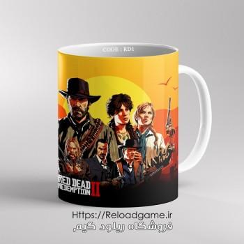 خرید ماگ طرح بازی Red Dead 2 | کد RD1 فروشگاه ریلود گیم