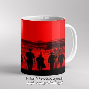 خرید ماگ طرح بازی Red Dead 2 | کد RD4 فروشگاه ریلود گیم