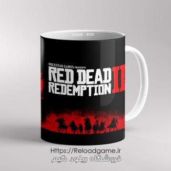 خرید ماگ طرح بازی Red Dead 2 | کد RD5 فروشگاه ریلود گیم