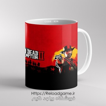 خرید ماگ طرح بازی Red Dead 2 | کد RD6 فروشگاه ریلود گیم