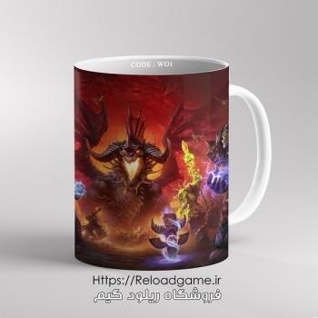 خرید ماگ طرح بازی وارکرافت World of Warcraft   کد WO1
