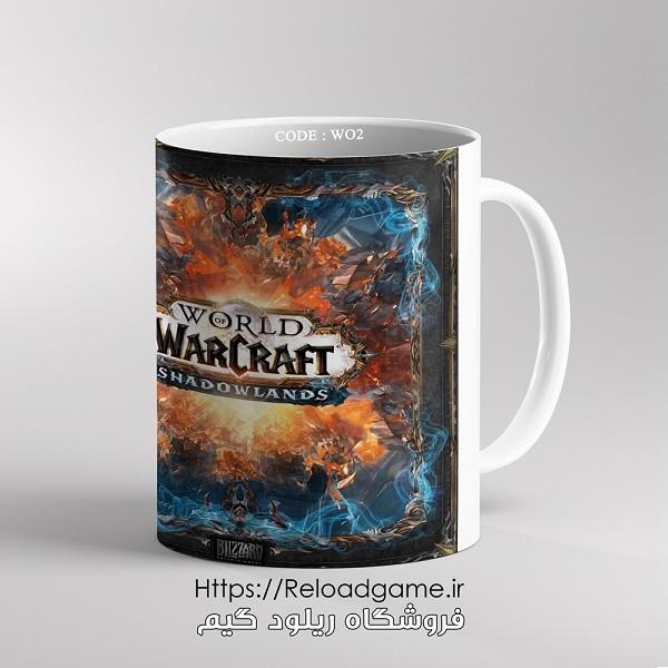 خرید ماگ طرح بازی وارکرافت World of Warcraft   کد WO2