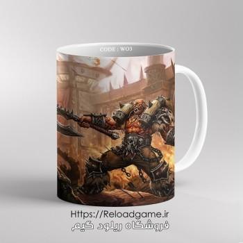 خرید ماگ طرح بازی وارکرافت World of Warcraft   کد WO3