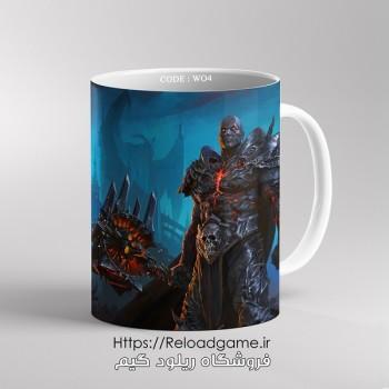خرید ماگ طرح بازی وارکرافت World of Warcraft   کد WO4