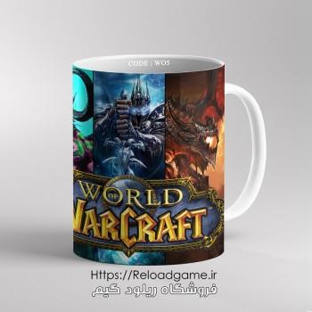خرید ماگ طرح بازی وارکرافت World of Warcraft   کد WO4 فروشگاه ریلود گیم