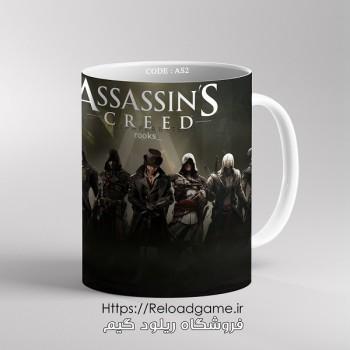 خرید ماگ طرح بازی Assassins Creed اساسین کرید   کد AS2 فروشگاه ریلود گیم