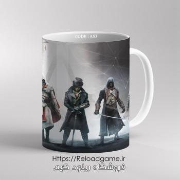 خرید ماگ طرح بازی Assassins Creed اساسین کرید   کد AS3 فروشگاه ریلود گیم