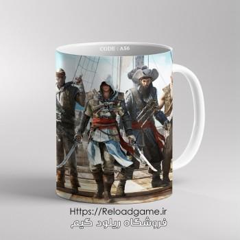 خرید ماگ طرح بازی Assassins Creed اساسین کرید | کد AS6 فروشگاه ریلود گیم