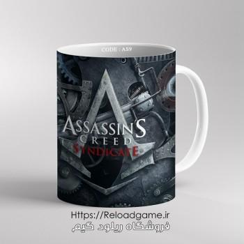 خرید ماگ طرح بازی Assassins Creed اساسین کرید | کد AS9 فروشگاه ریلود گیم
