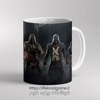 خرید ماگ طرح بازی Assassins Creed اساسین کرید | کد AS11 فروشگاه ریلود گیم