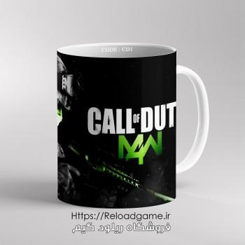 خرید ماگ طرح بازی کال آف دیوتی Call of Duty | کد CD1 فروشگاه ریلود گیم