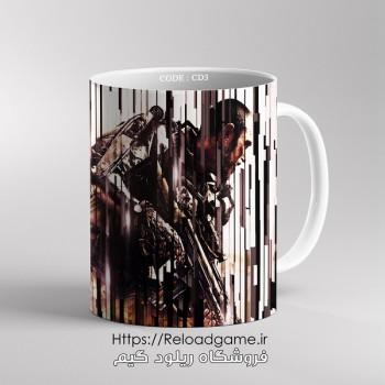 خرید ماگ طرح بازی کال آف دیوتی Call of Duty | کد CD3 فروشگاه ریلود گیم