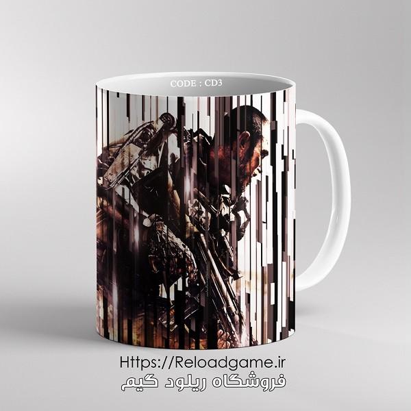 خرید ماگ طرح بازی کال آف دیوتی Call of Duty   کد CD3 فروشگاه ریلود گیم