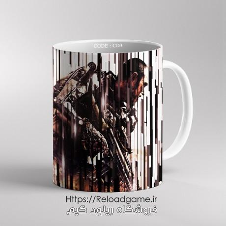 ماگ طرح بازی Call of Duty   کد CD3