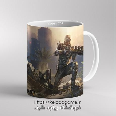 ماگ طرح بازی Call of Duty | کد CD5