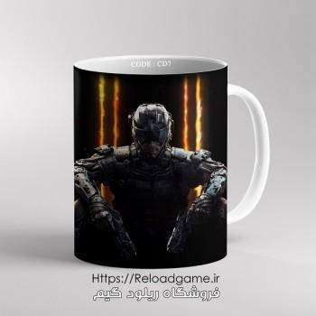 خرید ماگ طرح بازی Call of Duty کال آف دیوتی | کد CD7 فروشگاه ریلود گیم