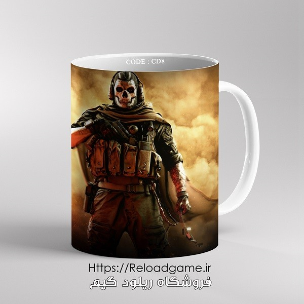 خرید ماگ طرح بازی Call of Duty کال آف دیوتی | کد CD8 فروشگاه ریلود گیم
