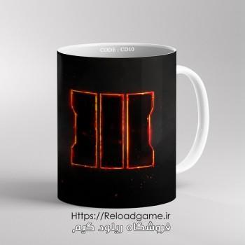 خرید ماگ طرح بازی Call of Duty کال آف دیوتی | کد CD10 فروشگاه ریلود گیم
