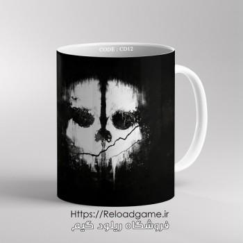 خرید ماگ طرح بازی Call of Duty کال آف دیوتی | کد CD12 فروشگاه ریلود گیم