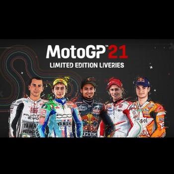 خرید MotoGP™21 - Limited Edition Liveries استیم | فروشگاه ریلود گیم