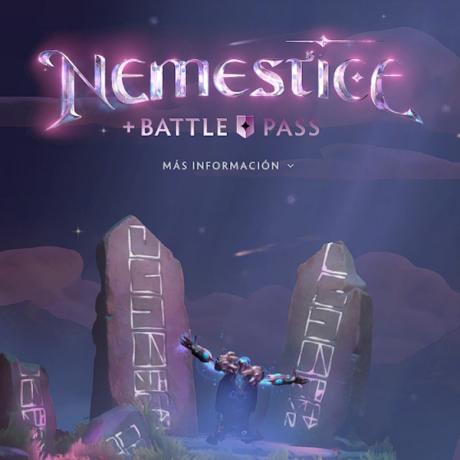 بتل پس Nemestice بازی Dota 2