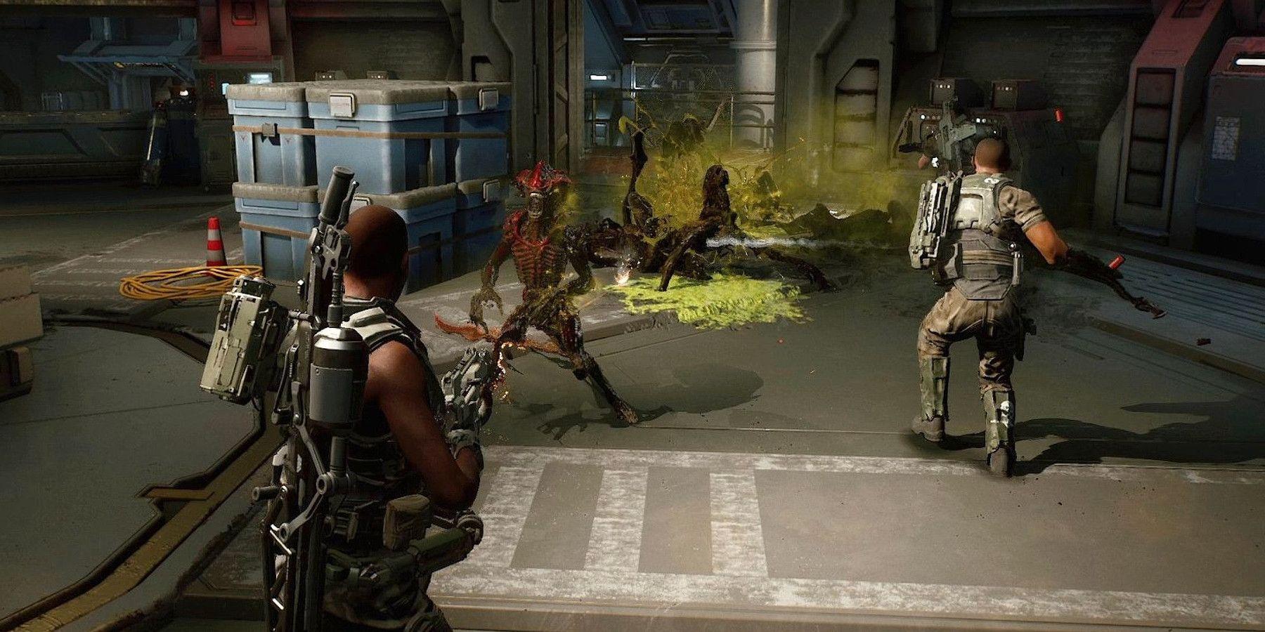 سی دی کی بازی Aliens: Fireteam Elite