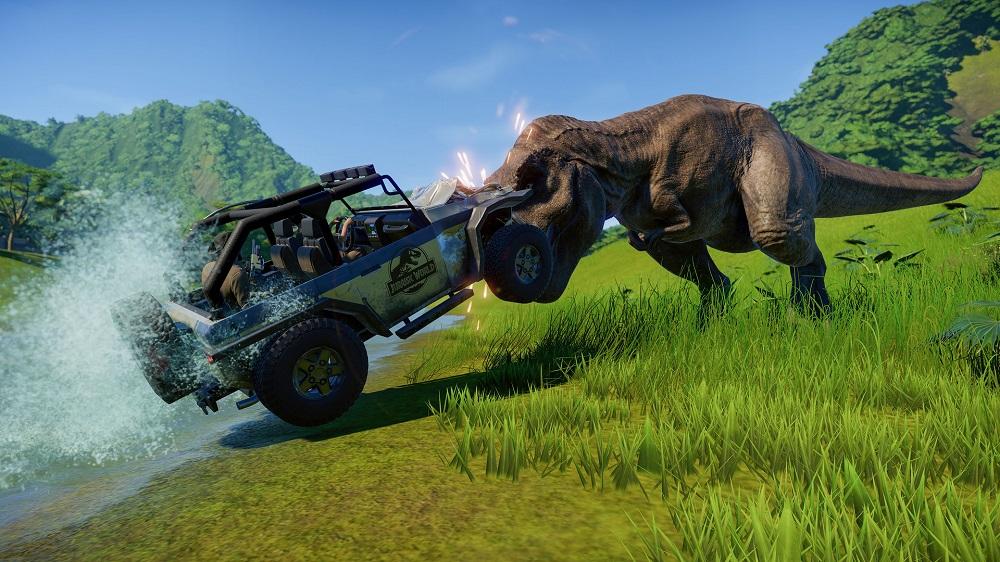 خرید بازی استیم jurassic world evolution 2